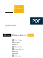 Destino Region de Murcia (España)) - Folleto Profesional