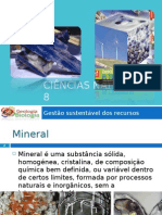 Power Point 1 - Recursos Minerais