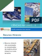 Powerpoint 1 - Recursos minerais - Evolução histórica