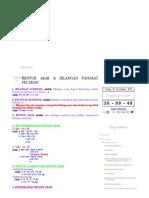 rumus matematika_ bentuk akar & bilangan pangkat pecahan