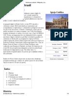 Catolicismo no Brasil – Wikipédia, a enciclopédia livre