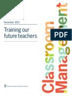 Future Teachers Classroom Management