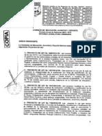 Nueva Ley Universitaria - Version Final