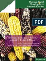 Turrent Et Al 2012. Factibilidad de Alcanzar El Potencial Productivo de Maiz en Mexico