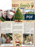 Hensen Christmas Newsletter 2013