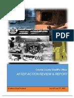 Deputy Kurt Wyman after-action report