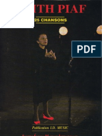 Book Edith Piaf - 25 Chansons