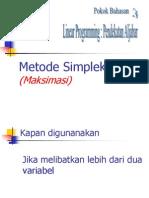 Kelas Khusus Simpleks Maks