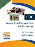 Manual de Elaboracion de Proyectos[1]