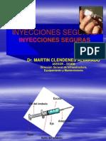 Manejo de Las Inyecciones Seguras-Martin Clendenes