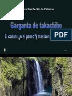 Garganta de Takachiho Arenera San Benito