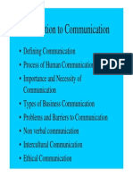 Lecture 1 Intro to Communication