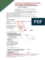 Cuentas Comunes PCGE