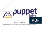 Puppet Labs Hiera Manual