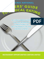 2014 Diners Guide to Ethical Eating