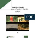 Amazonia sin petróleo Resistencia en Territorio Mosetén