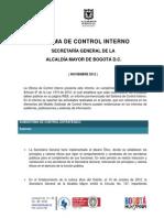 Informe Control Interno 3er Cuatrimestre