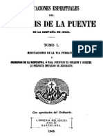 Meditaciones Espirituales-Luis de La Puente-Tomo I