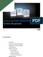 06_01-P660_REC670_REC650_Apparatus_Control (Español)