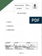 ENF-IN-030 Toma de Glucometria