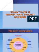 Ch 13-14 International Product Decisions