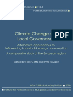 Climate Change and Local Governance