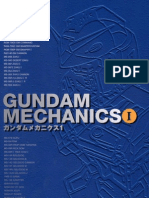 Artbook - Gundam Mechanics I