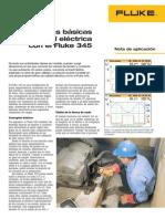 Medidas básicas de calidad eléctrica con el Fluke345