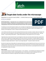 Target Date Mutual Funds Under the Microscope - Aaron Skloff, AIF, CFA, MBA - CEO Skloff Financial Group