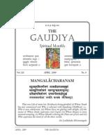 gaudiya math chennai / The Gaudiya April 2009