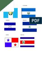Bandera y Escudo Centroamerica