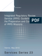 IRRS Guidelines 2013