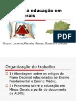 O Direito a Educacao Em Minas Geraisfinal