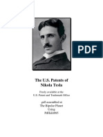 Complete Us Patents of Nikola Tesla