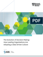 The Evolution of Decision Making: How Leading Organizations Are Adopting a Data-Driven Culture