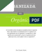 Iglesia Organizada  v/s  Iglesia Organica