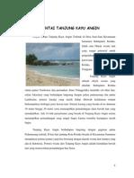 Pantai Kayu Angin Tanjung