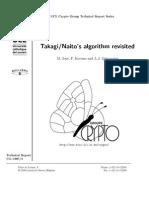 Takagi / Naito's Algorithm Revisited