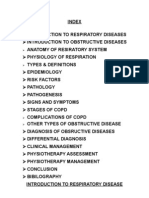obstructive disease of lung and physiotherapy management