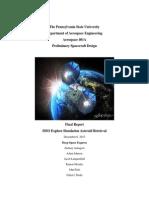 aersp 401 final report