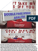 1Double Page Spread Analysis