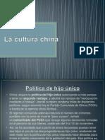 La Cultura China Tema Actual