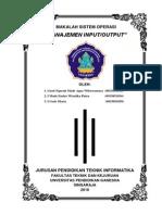Tugas Kelompok 1 (Manajemen Input-Output)