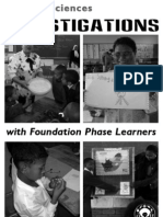 Foundation Phase Science Investigations