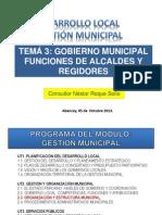Tema 3 Escuela Mayor de Gestion Municipal