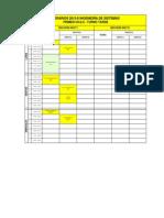 Horarios Ing. Sistemas 2013-II 06-09-13