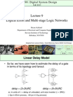 Lecture 9 - CpE 690 Introduction to VLSI Design