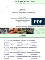 Lecture 8 - CpE 690 Introduction to VLSI Design