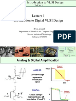Lecture 1 - CpE 690 Introduction to VLSI Design