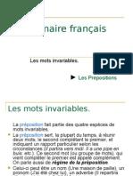 22191806 Grammaire Francais La Preposition (1)